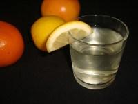 Eau aromatisée aux agrumes ( detox water )