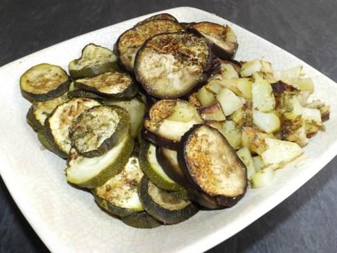 Légumes rôtis au vinaigre balsamique au four2