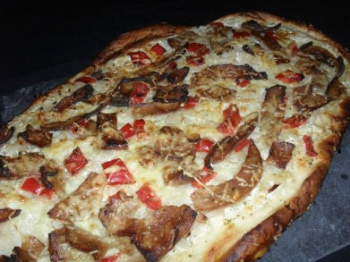 Pizza aux oignons façon kebab2