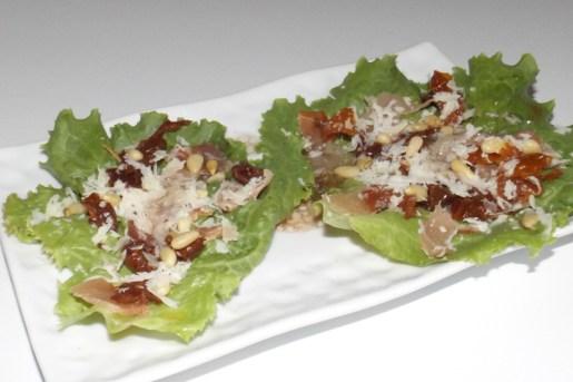 Salade composée à l'italienne