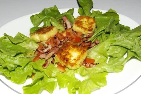 Salade composée aux Kiri® panés2