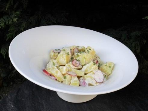 Salade de pommes de terre et radis
