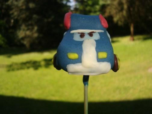 Cake pops robocar poli ( Poli et Ambre )5