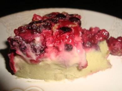 Clafoutis aux groseilles et au thé vert matcha3