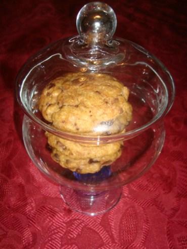 Cookies aux pépites de chocolat au lait et au beurre de cacahuètes
