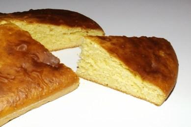 Gâteau aux jaunes d'oeufs et à la vanille2