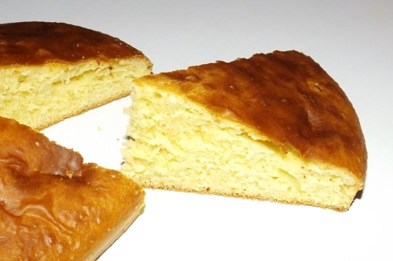 Gâteau aux jaunes d'oeufs et à la vanille3