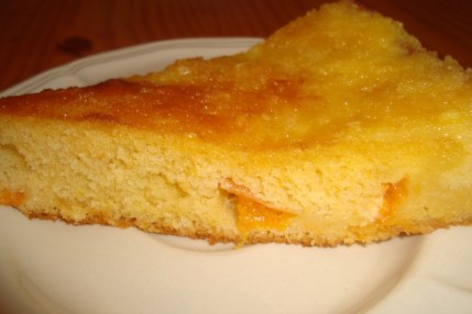 Gâteau moelleux aux abricots2