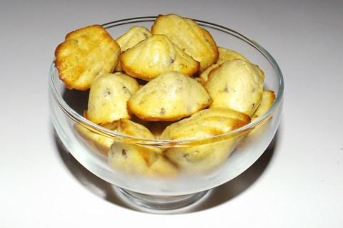 Mini-madeleines apéritives au chutney Dulse et oignon rouge