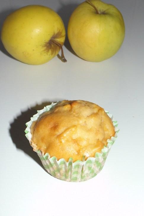Muffins moelleux aux pommes et au vinaigre de cidre