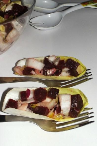 Salade d'endive et de betterave rouge3