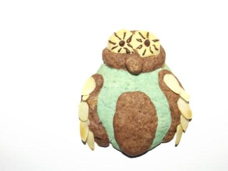 Biscuits sablés Chouette1