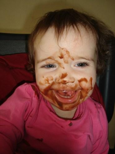 Crème au chocolat ( sans lactose, sans beurre et sans gluten )3