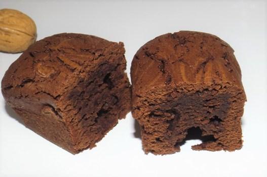 Gâteau au chocolat noir et à l'huile de noix2