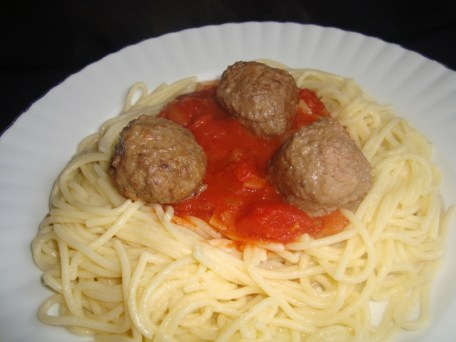 Spaghetti alla salsa di pomodoro ( à la sauce tomate )2