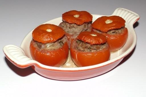 Tomates farcies à l'ail et au persil et au Parmigiano Reggiano.jpg