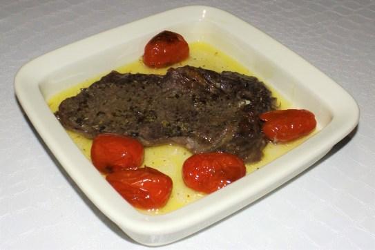 Côte de boeuf aux tomates cerises SIMPLISSIME