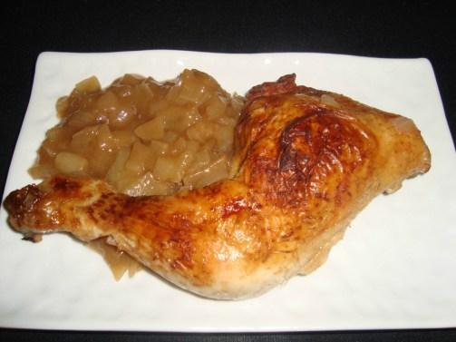Cuisses de poulet aux échalotes et au coca cola.jpg