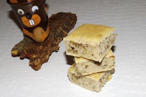 Gâteau du matin de l'écureuil (aux noisettes)2