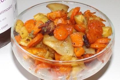 Légumes oubliés confits au four au miel des Cévennes2