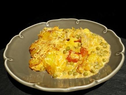 Pastel de cerdo y batats ( gratin de pommes de terre et viande argentin )2