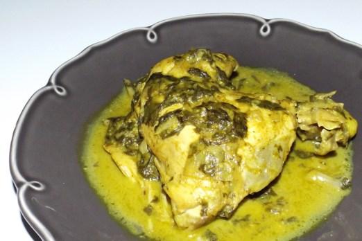 Poulet Fafa spécialité tahitienne