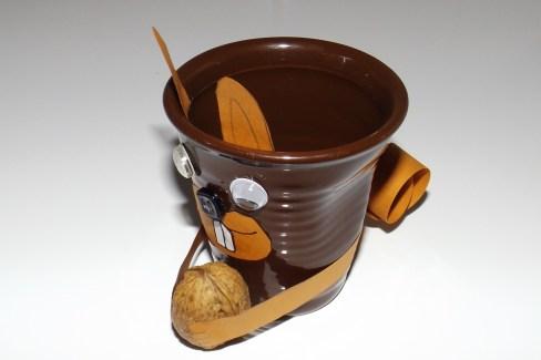 Tasses à café expresso froissé Ecureuil c