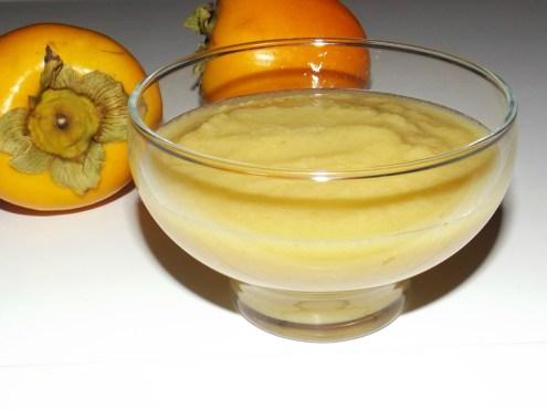 Compote pomme kaki et orange