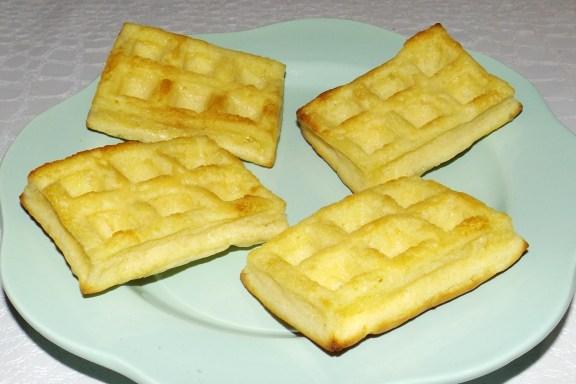 Mini gaufres sucrées au four (recette Tupperware)