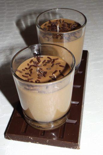 Panna cotta au chocolat noir (facile)2