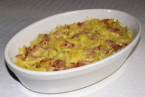 Gratin de macaroni au jambon SIMPLISSIME
