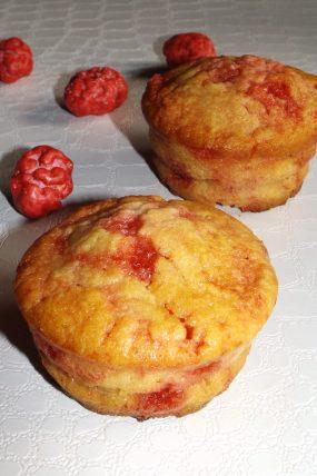 Muffins aux pralines roses ou muffins à la lyonnaise2