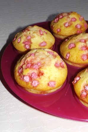 Muffins aux pralinettes4