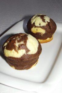 Muffins marbré chocolat et vanille2