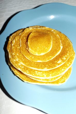 Pancakes sans gluten (recette Maïzena)2