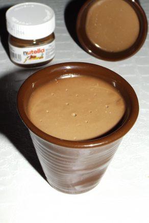 Panna cotta au Nutella