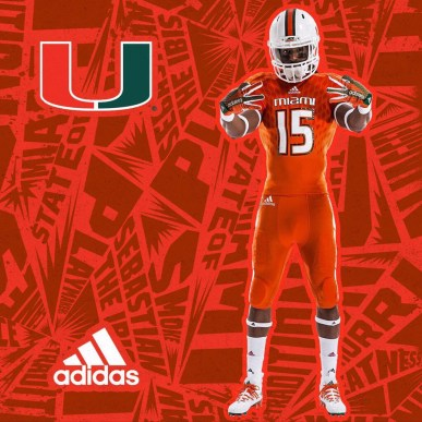 Miami Hurricanes Football: Miami-Adidas Unveil New Uniforms And They're  Awesome - Page 2