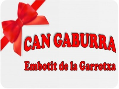 tarjeta regal d'embotits de la Garrotxa Can Gaburra