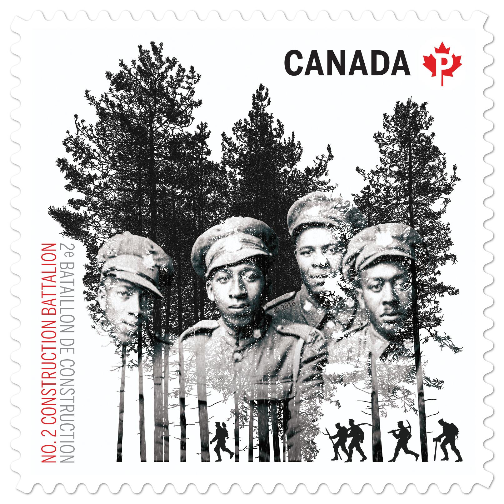 New stamp honours black Canadian First World War battalion