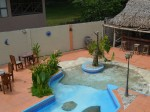 Pool area at El Encanto de Dona Lidia,