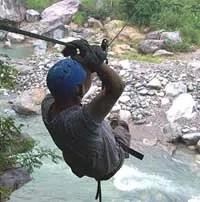 Cangrejal River Zipline