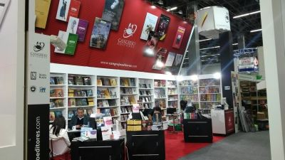 Stand Cangrejo Editores, FIL 2014