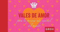 Vales de amor para la persona más especial del mundo