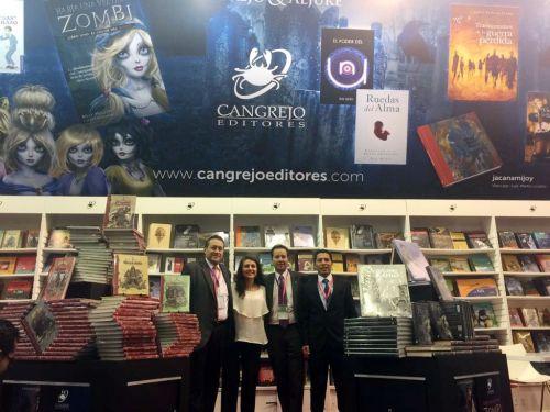 Cangrejo Editores y Cangrejo & Aljure en la FIL 2017