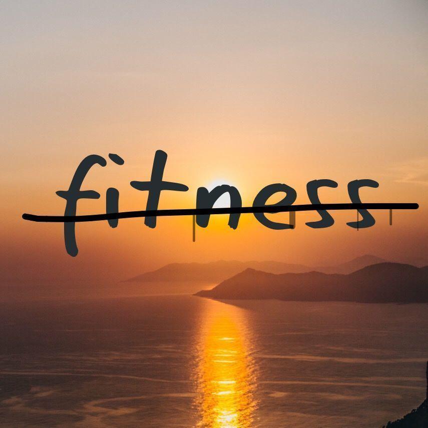 Me cansé de la gente fitness