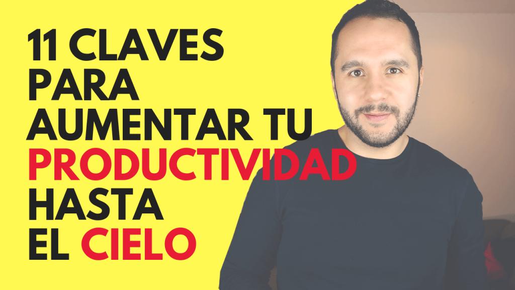 como aumentar tu productividad