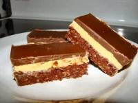 Plate of nanaimo bars