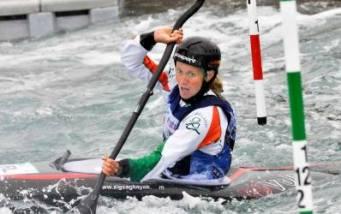 Hannah Craig at Canoe Slalom World Championships 2015