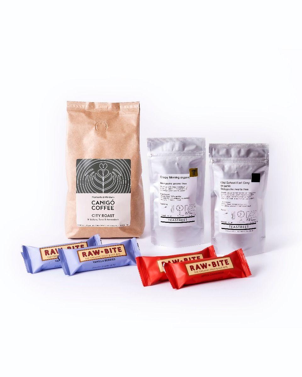 Giftbox package coffee tea bars