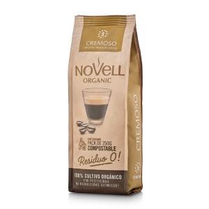 Novell Cremoso whole Bean Organic Coffee No Waste